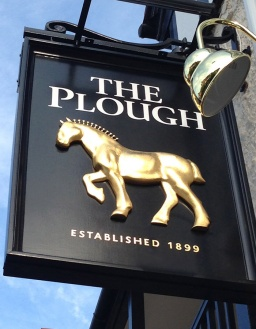 A Gold Horse for the Plough!