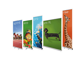 Roll Up Banners Stands