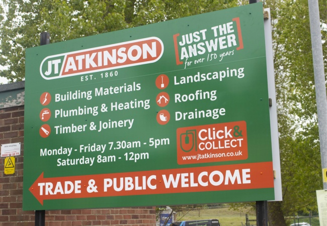 Dibond Aluminium Signs & Boards