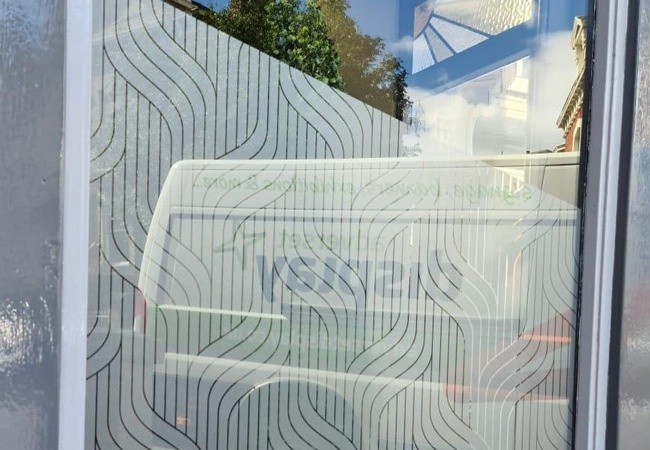 Frosted Window Vinyl Graphics