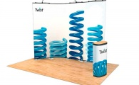Twist Display Stand 3-Panel Kit