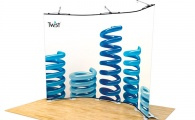 Twist Display Stand 5-Panel Kit