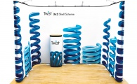 Twist Display Stand 6-Panel Kit (option 2)