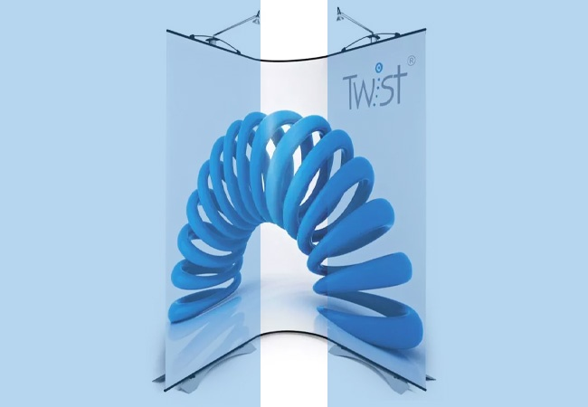 Twist Flexi Curve Panel Unit