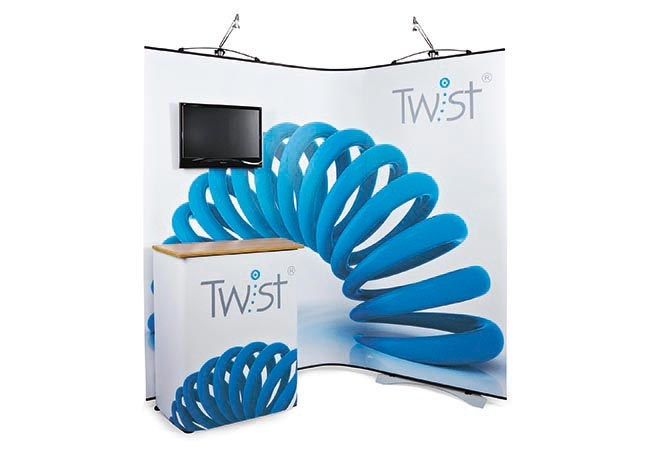 Twist Display Stand TV Media Unit
