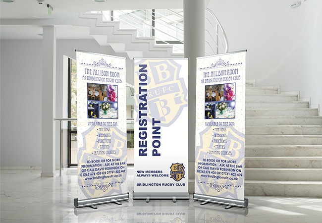 pull up banner instructions