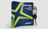 'The Arc' Fabric Exhibition Stand