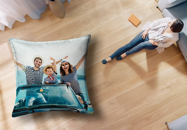 'The Island' Printed Waterproof Beanbag