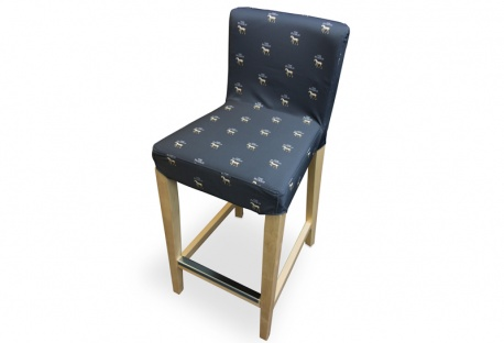 'Giraffe' Custom Printed Bar Stool