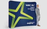 'ArcXL' Fabric Exhibition Stand