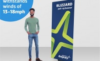 BLIZZARD Outdoor Banner