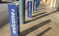 Printed Bollard Covers