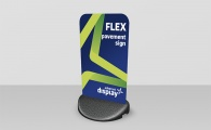 Flex Pavement Sign