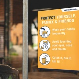 'PROTECT' A3 Posters - pack of 6