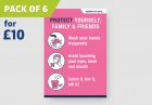 'PROTECT' A4 Posters - pack of 6