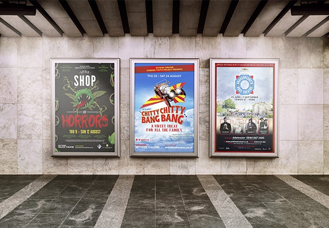 4-sheet poster printing for retail
