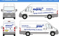 LARGE Van Graphics