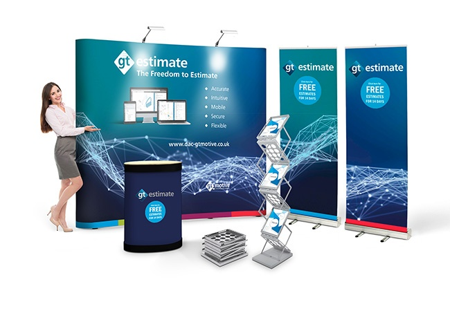 Pop Up Exhibition Stand : Pop up display stand bundle deal pop up exhibition stands