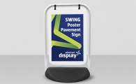 Swing Poster Pavement Sign