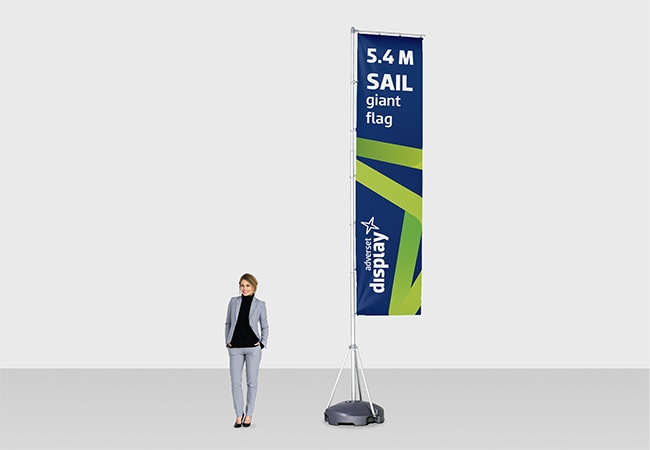 SAIL Giant Flag