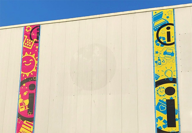 16 x 4 ft Mesh Banners