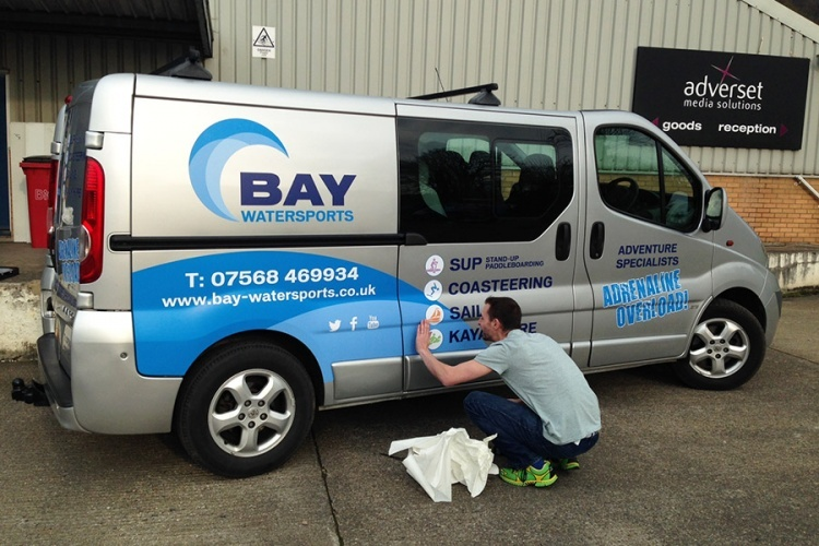 Vehicle vinyl graphics