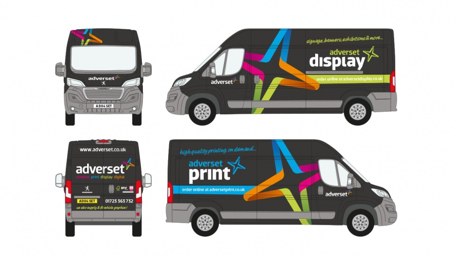 046b0a9158 high-quality vehicle graphics are an asset that no business should be  without. We have created van graphics for many types ...